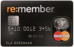remember kreditkort