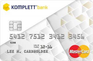 komplett bank mastercard - komplett bank kredittkort