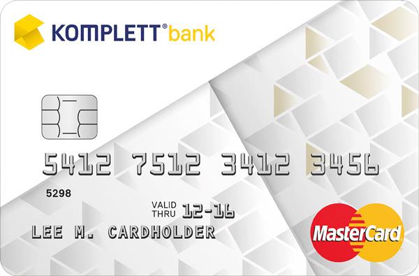 Komplett Bank kredittkort